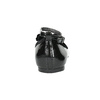 Dziewczęce baleriny z kokardką mini-b, czarny, 321-6190 - 17
