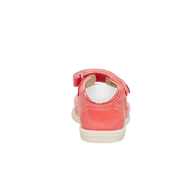 Sandały dziecięce mini-b, pomarańczowy, 169-5100 - 17