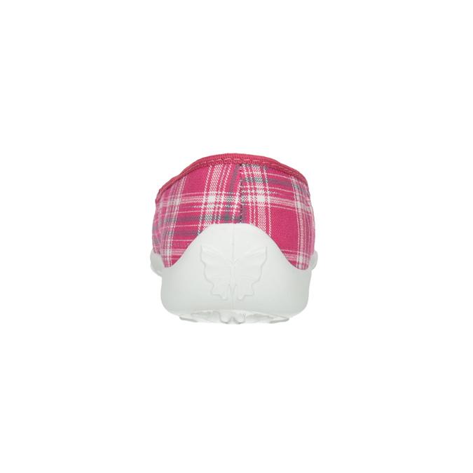 Domowe buty dziecięce mini-b, różowy, 379-5207 - 17