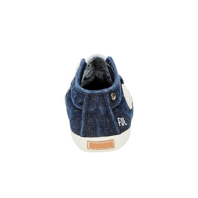 Męskie buty sportowe pepe-jeans, niebieski, 829-9009 - 17