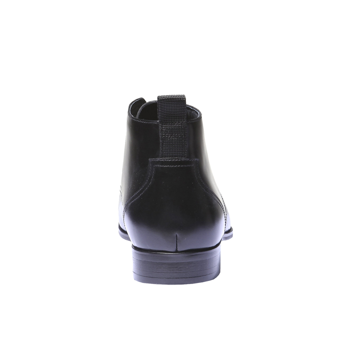Skórzane botki bata, czarny, 894-6144 - 17