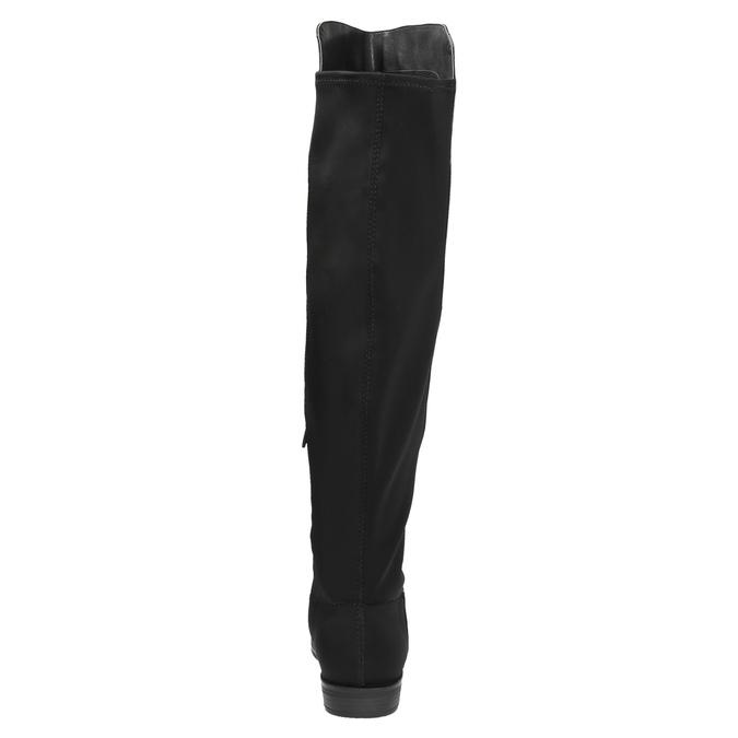 Kozaki damskie za kolana bata, czarny, 591-6604 - 17