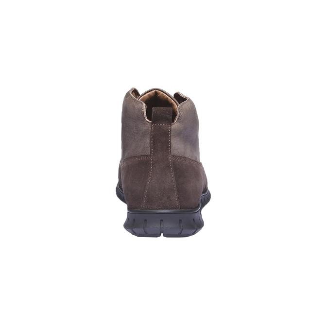 Skórzane buty sportowe na co dzień bata, brązowy, 896-4195 - 17