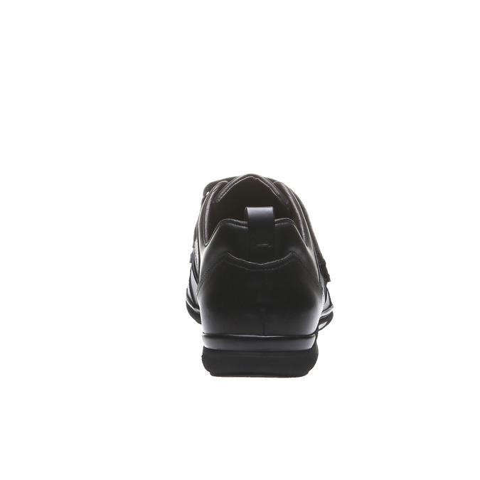 Skórzane buty sportowe bata, czarny, 814-6344 - 17