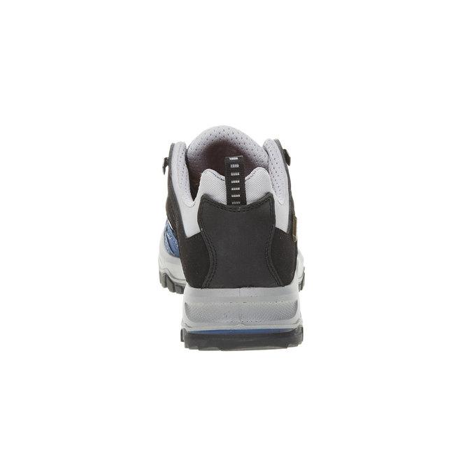 Skórzane buty Outdoor north-star, niebieski, 543-9208 - 17