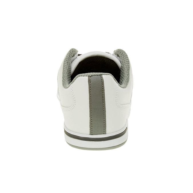 Męskie buty sportowe z dżinsowymi sznurówkami levis, biały, 841-1551 - 17