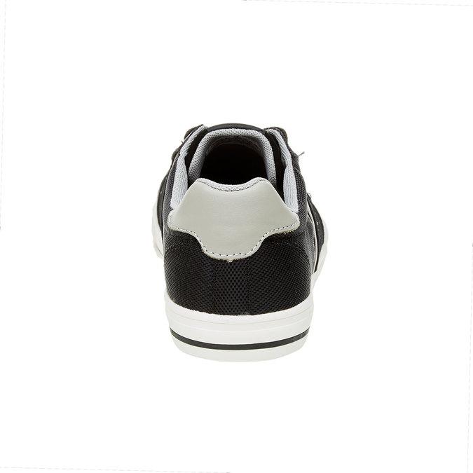 Męskie tenisówki w czarnym kolorze pepe-jeans, czarny, 849-6008 - 17