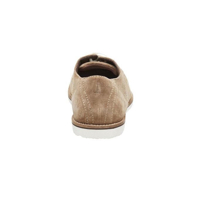Półbuty z zamszowej skóry rockport, brązowy, 823-8102 - 17