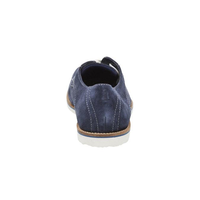 Półbuty z zamszowej skóry rockport, niebieski, 823-9102 - 17