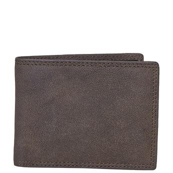 Męski skórzany portfel bata, brązowy, 944-4129 - 13