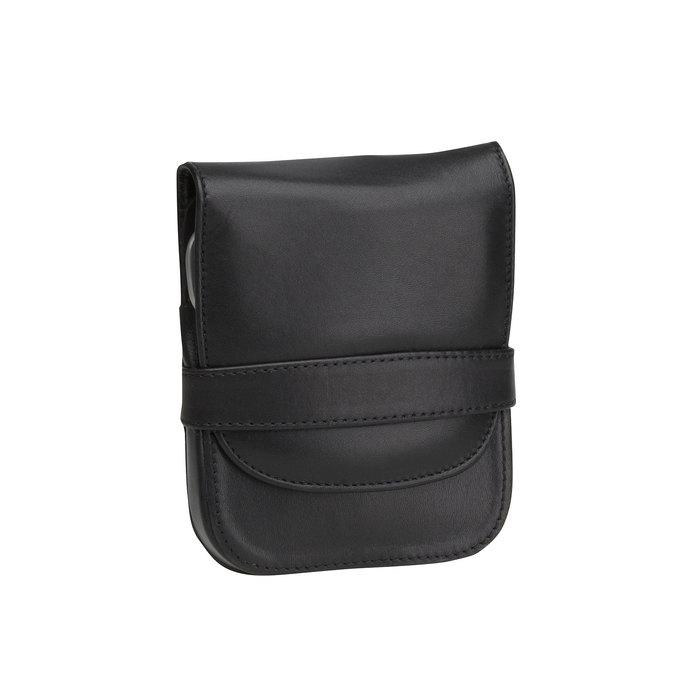 Zestaw do manicure w skórzanym etui bata, czarny, 944-6200 - 13