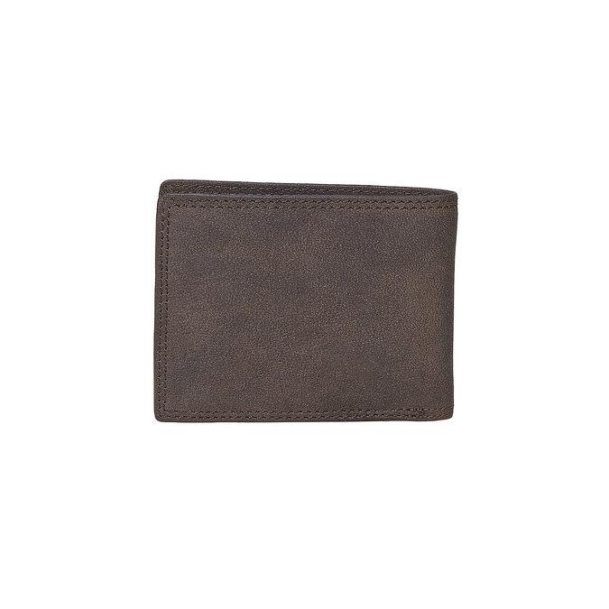 Męski skórzany portfel bata, brązowy, 944-4129 - 26