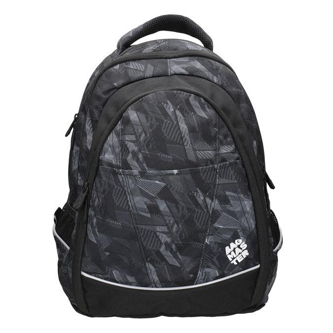 Plecak szkolny dla dzieci bagmaster, czarny, 969-6606 - 26