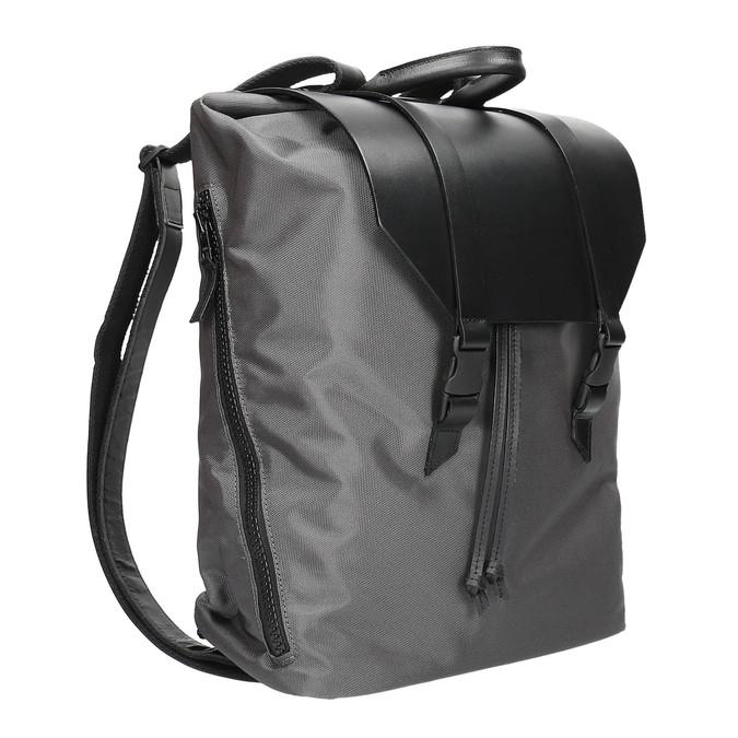 Szary plecak unisex royal-republiq, czarny, 964-6209 - 13