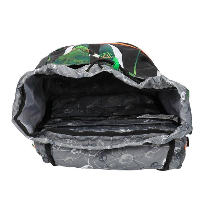 Zielony plecak szkolny bagmaster, zielony, 969-7612 - 15