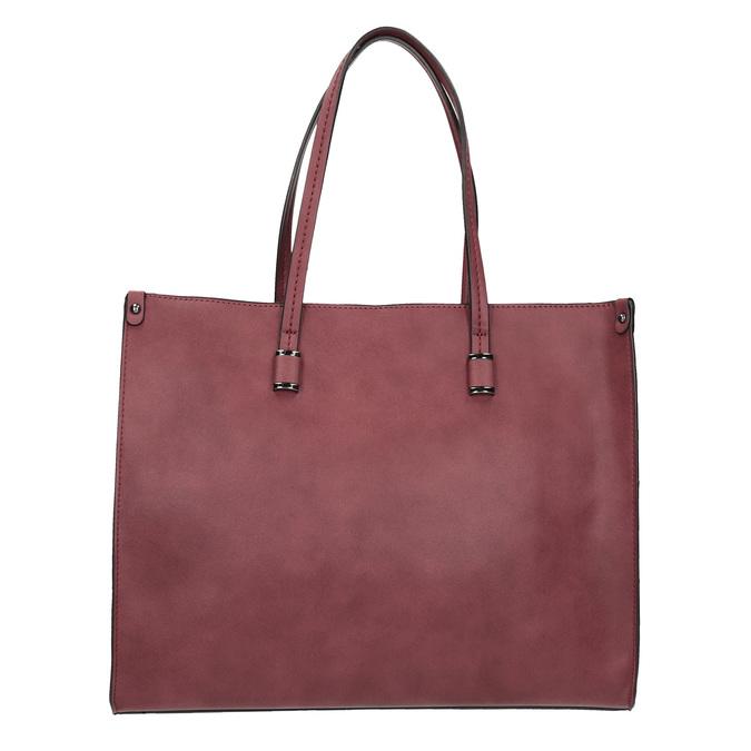 Damska torebka w stylu Shopping bata, czerwony, 961-0736 - 19