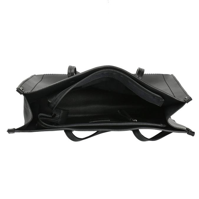 Kwadratowa torebka w stylu Shopper bata, czarny, 961-6736 - 15