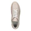 Damskie skórzane buty sportowe bata, różowy, 526-5612 - 19