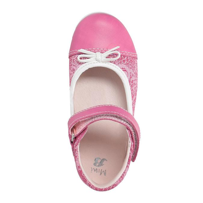 Dziewczęce pantofle do kostki bubblegummer, czerwony, 129-5148 - 19