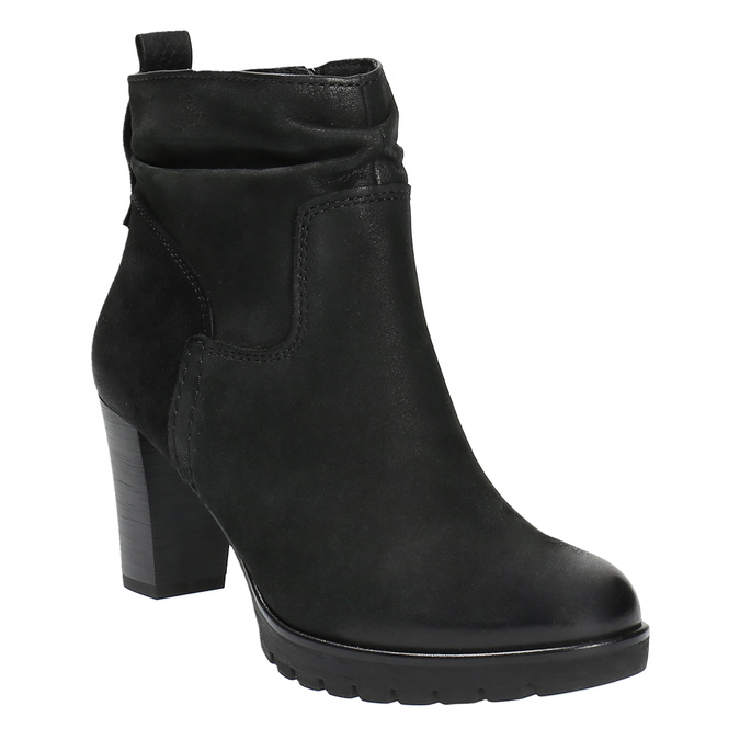 Botki damskie bata, czarny, 796-6600 - 13