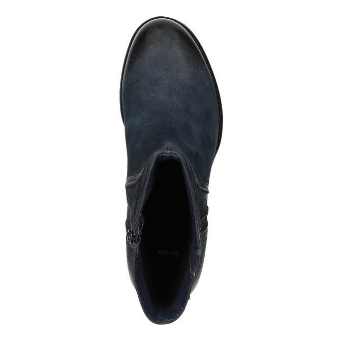 Botki damskie bata, niebieski, 696-9603 - 19