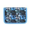 Niebieski piórnik szkolny bagmaster, niebieski, 949-9610 - 19