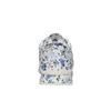 Trampki damskie zkolorowym deseniem wkwiaty le-coq-sportif, biały, 509-1656 - 17