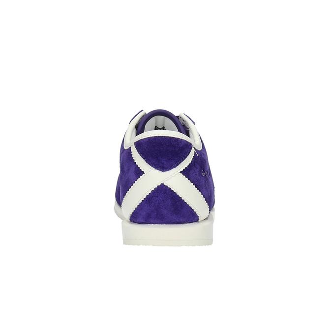 Fioletowe damskie buty sportowe le-coq-sportif, fioletowy, 503-9567 - 17