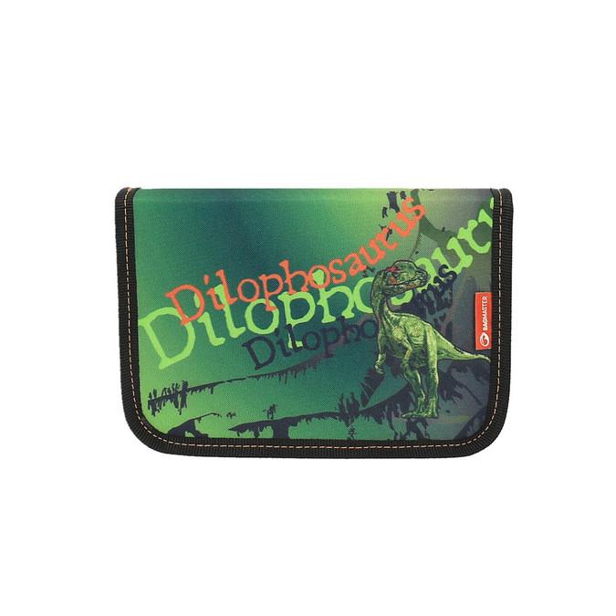 Zielony piórnik szkolny bagmaster, zielony, 949-7612 - 19