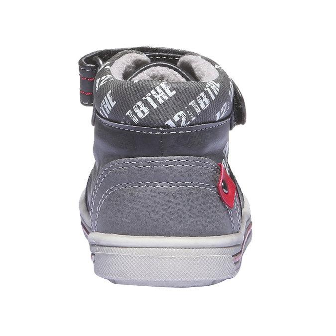 Buty dziecięce mini-b, czarny, 111-6102 - 17