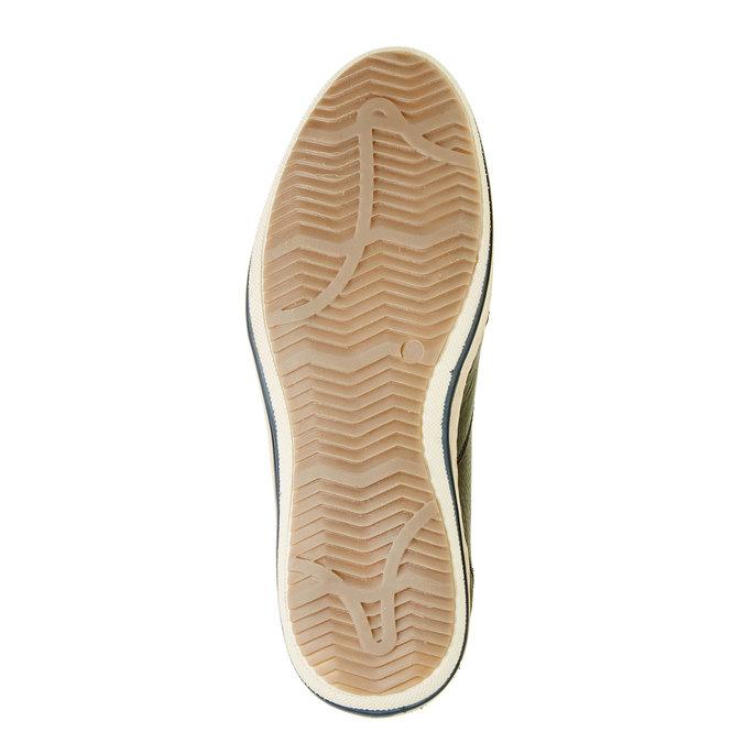 Skórzane buty sportowe do kostki bata, czarny, 844-6620 - 26