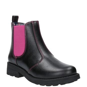 Dziecięce buty Chelsea Boots mini-b, czarny, 321-5602 - 13
