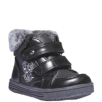 Buty dziecięce mini-b, czarny, 121-6102 - 13