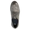 Skórzane półbuty męskie onieformalnym stylu bata, szary, 826-2732 - 19