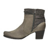 Damskie botki bata, szary, 696-2617 - 26