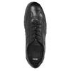 Czarne skórzane półbuty na co dzień bata, czarny, 826-6652 - 19