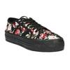 Tenisówki w kwiaty bata, czarny, 529-0630 - 13