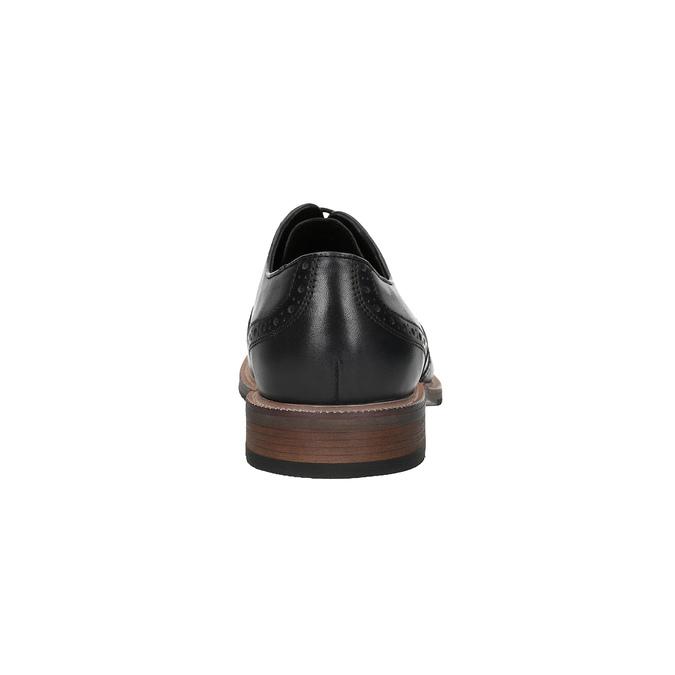 Męskie Oxfordy na podeszwie w swobodnym stylu bata, szary, 826-2647 - 17