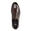 Skórzane brązowe półbuty bata, brązowy, 824-4684 - 19