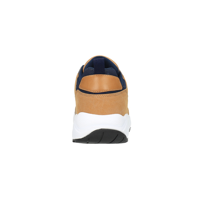 Tenisówki na solidnej podeszwie bata, brązowy, 841-3603 - 17