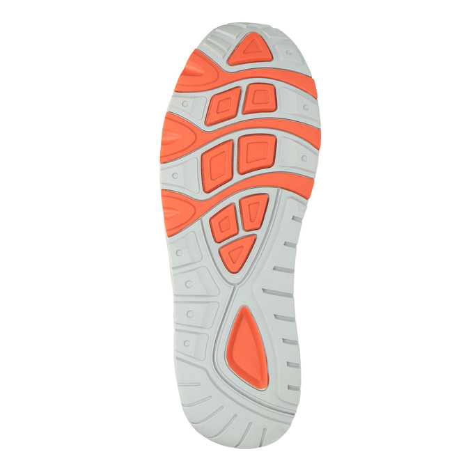 Męskie buty sportowe na solidnej podeszwie bata, niebieski, 841-9601 - 26