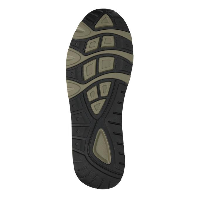 Męskie buty sportowe na solidnej podeszwie bata, czarny, 841-6604 - 26