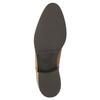 Skórzane botki z suwakami bata, brązowy, 594-3518 - 26