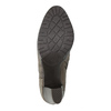 Botki na obcasie bata, szary, 791-2602 - 26