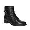 Damskie botki bata, czarny, 594-6617 - 13