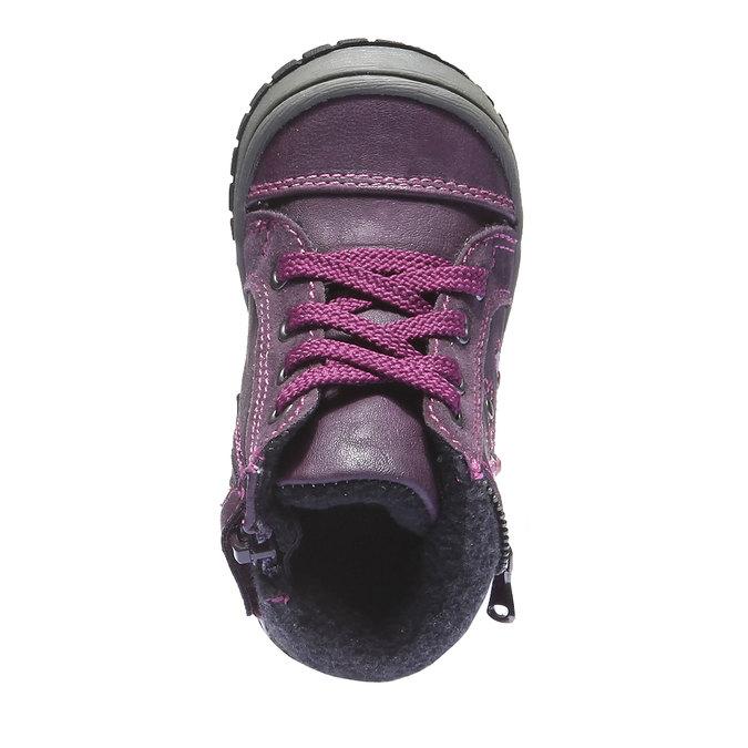 Buty dziecięce mini-b, fioletowy, 121-9101 - 19