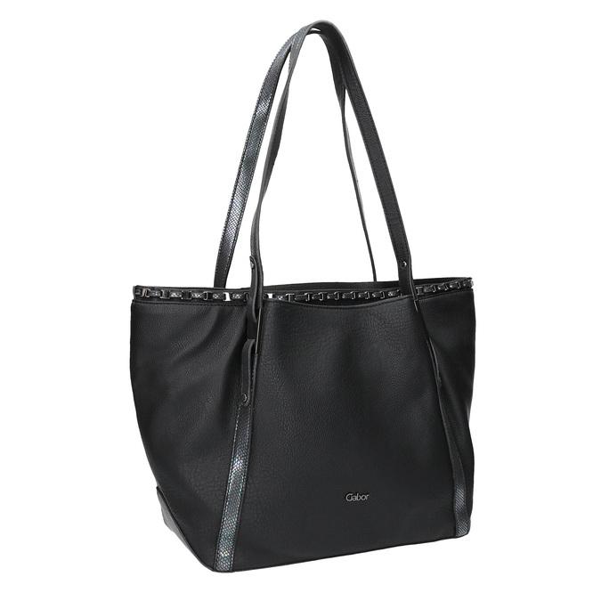 Czarna torba damska gabor-bags, czarny, 961-6006 - 13