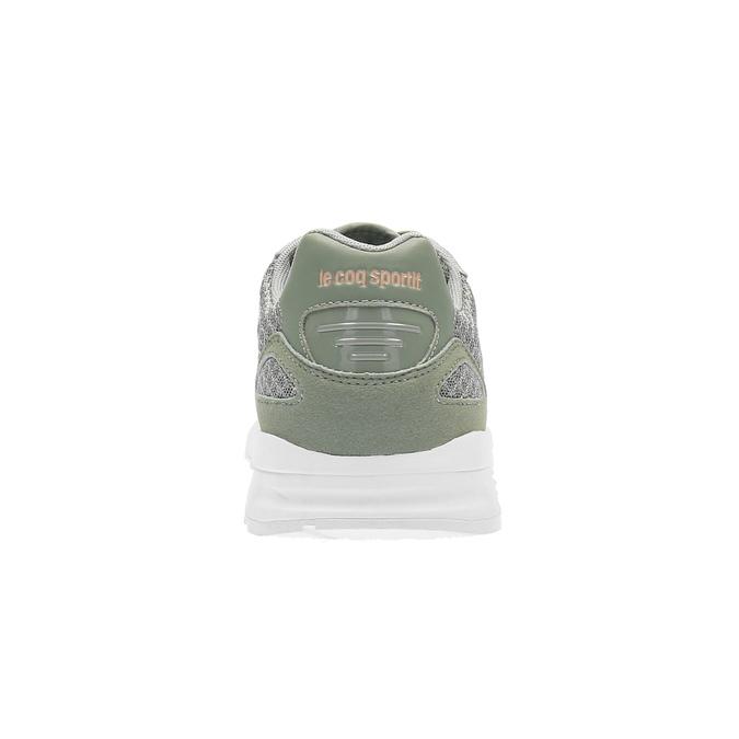 Trampki damskie wkolorze khaki le-coq-sportif, zielony, 509-7570 - 17