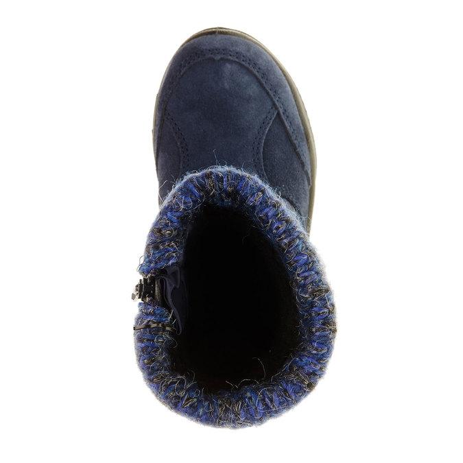 Dziewczęce buty zimowe mini-b, niebieski, 299-9151 - 19