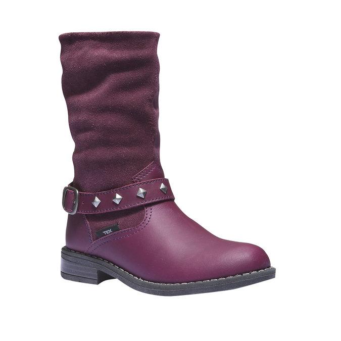 Buty dziecięce mini-b, czerwony, 394-5101 - 13